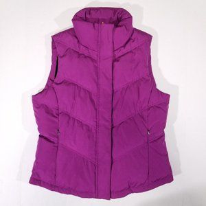 Calvin Klein Really Soft Lined Pink Outdoor Vest